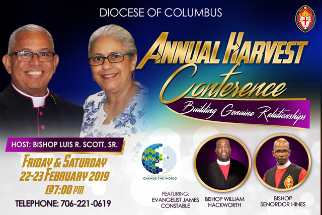 Diocese of Columbus Annual Harvest Conference Flyer